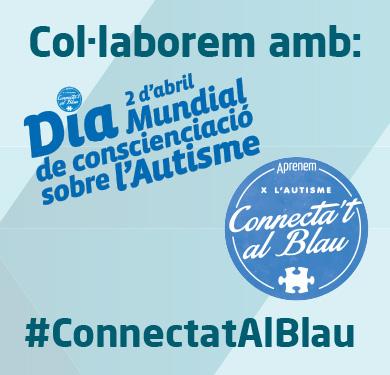 conectat al blau