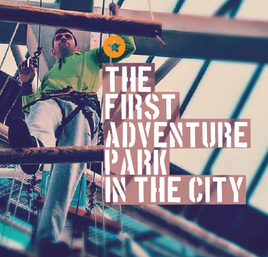 first adventure park in barcelona